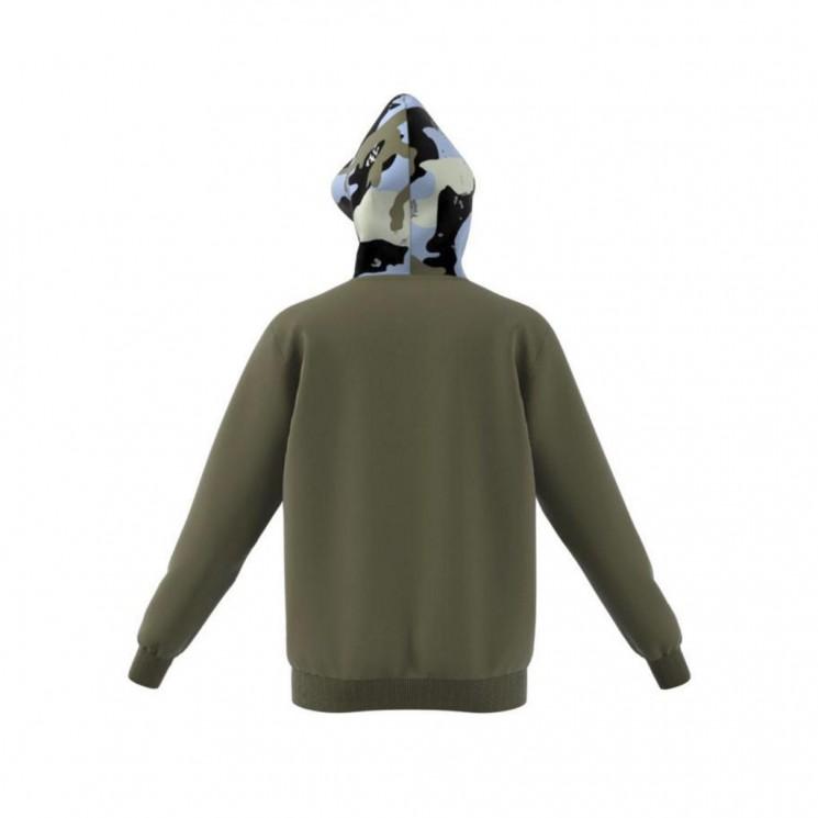 Sudadera Adidas Camo Hoody Verde