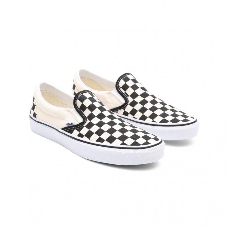 Zapatillas Vans Slip On Black White Checker