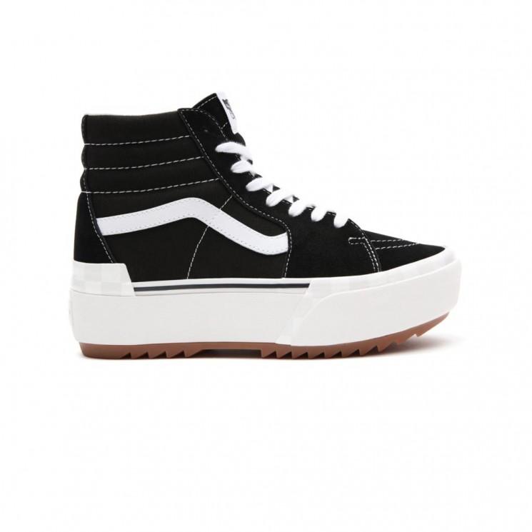 Zapatillas Vans SK8 Hi Stacked Negras
