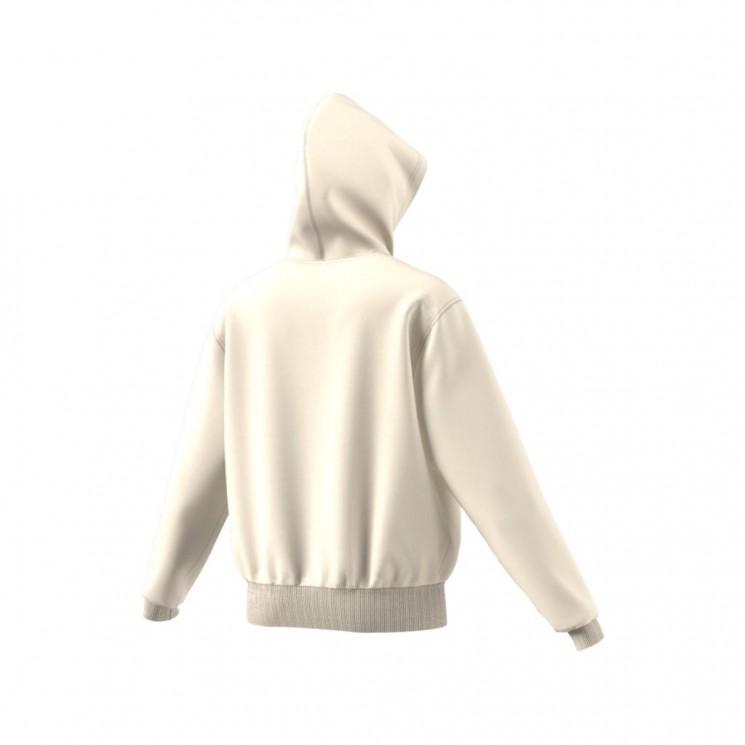 Sudadera Adidas Floral Trefoil Blanca
