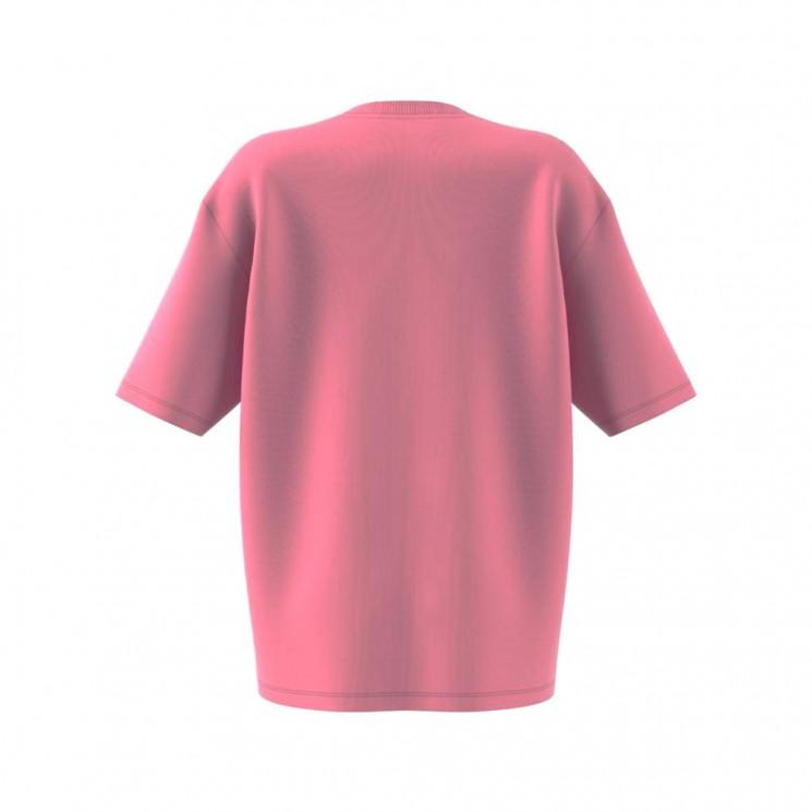 Camiseta Adidas Oversized Tee Rosa