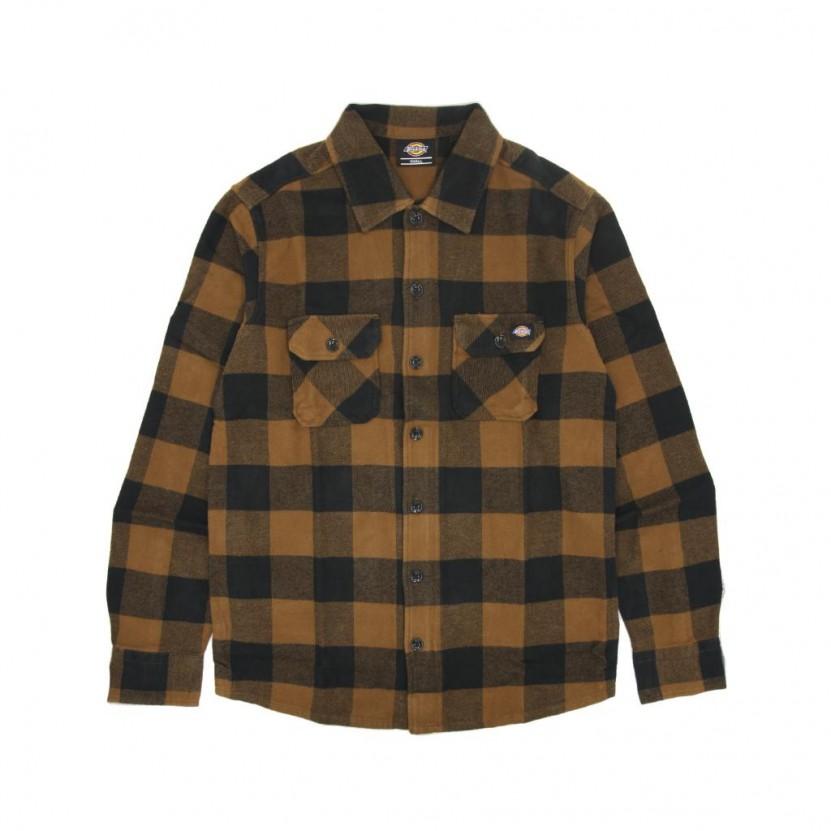 Camisa Dickies New Sacramento Shirt Marron