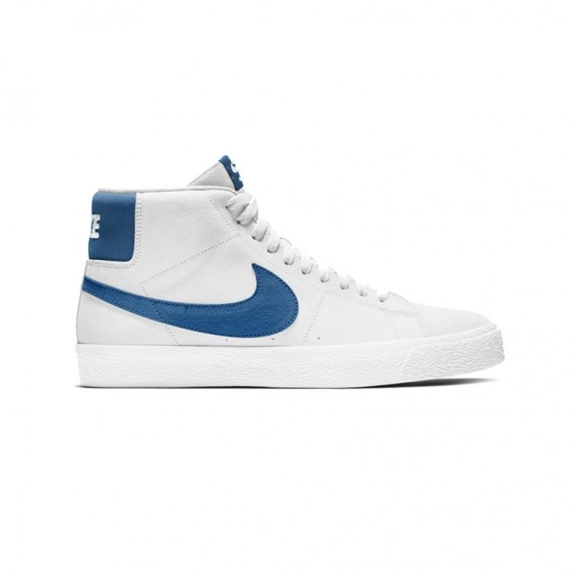 Zapatillas Nike SB Zoom Blazer MID Blancas