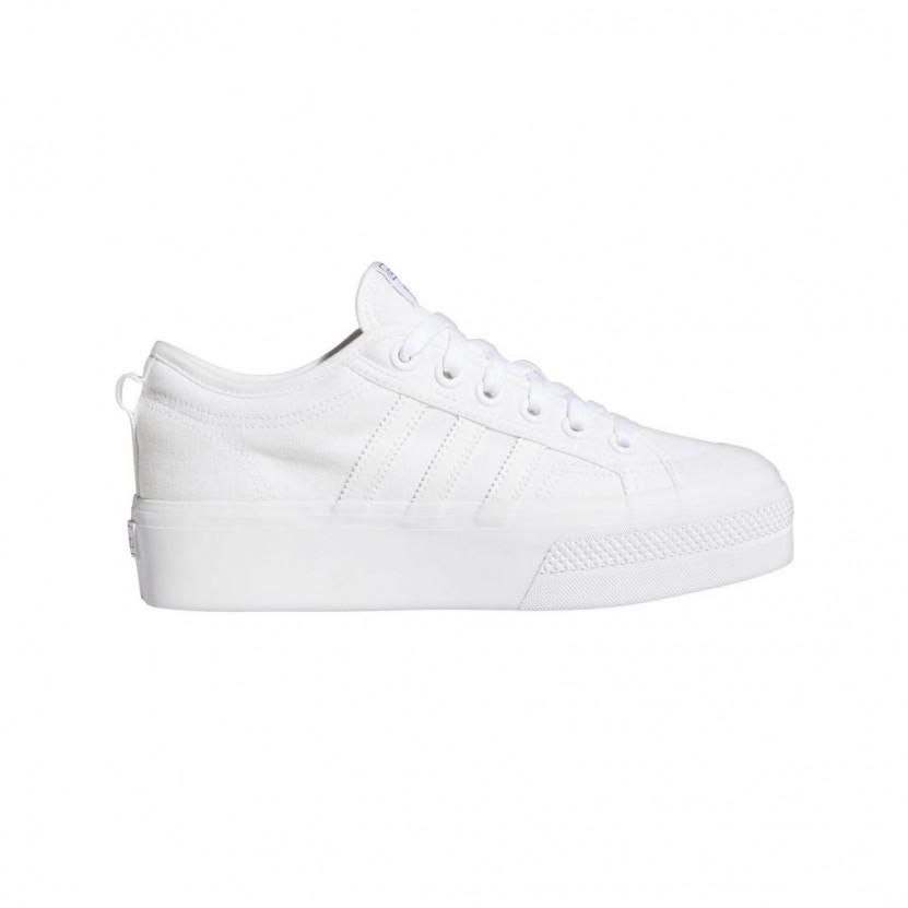 Zapatillas Adidas Nizza Platform W Blancas