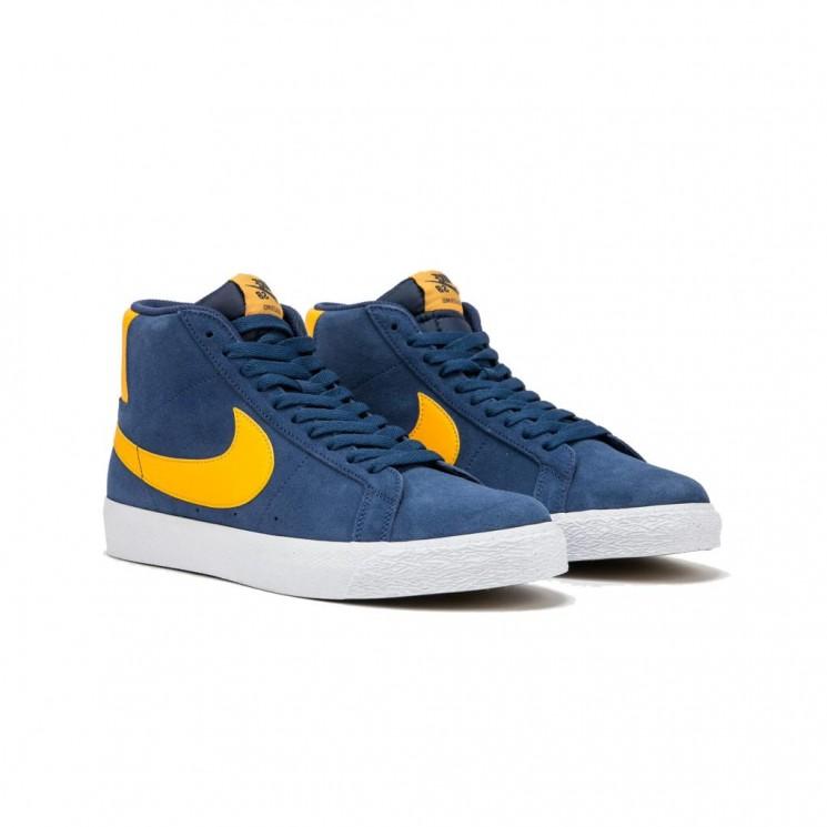 Zapatillas Nike SB Zoom Blazer MID Azules