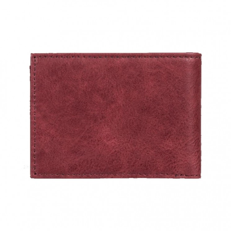 Cartera Element Segur Wallet Granate
