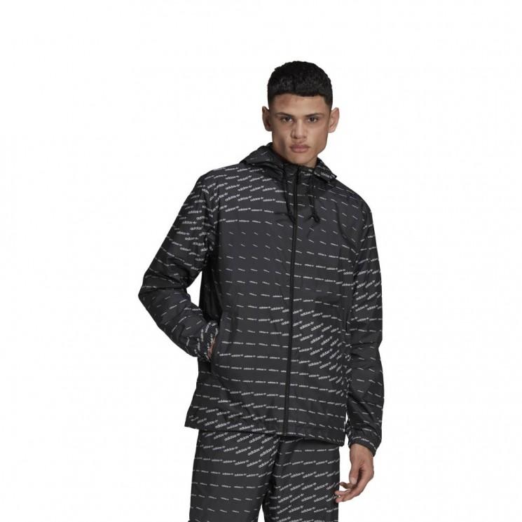Chubasquero Adidas Mono WB Negro