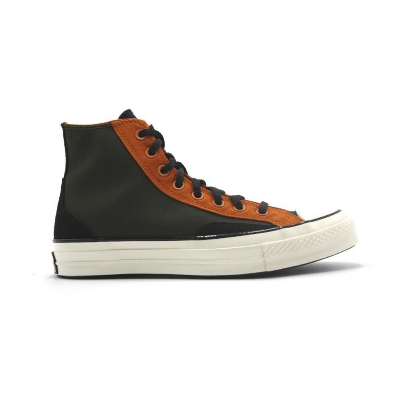 Zapatillas Converse Chuck 70 Court Verde Naranja