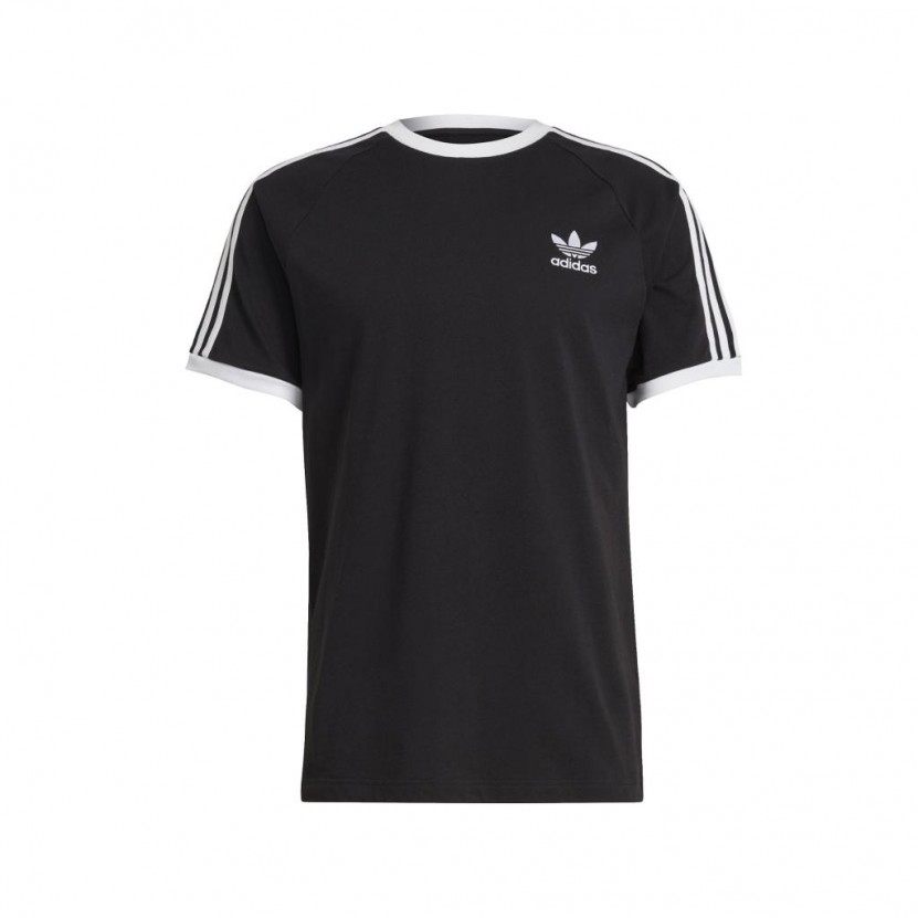 Camiseta Adidas 3 Stripes Tee Negra