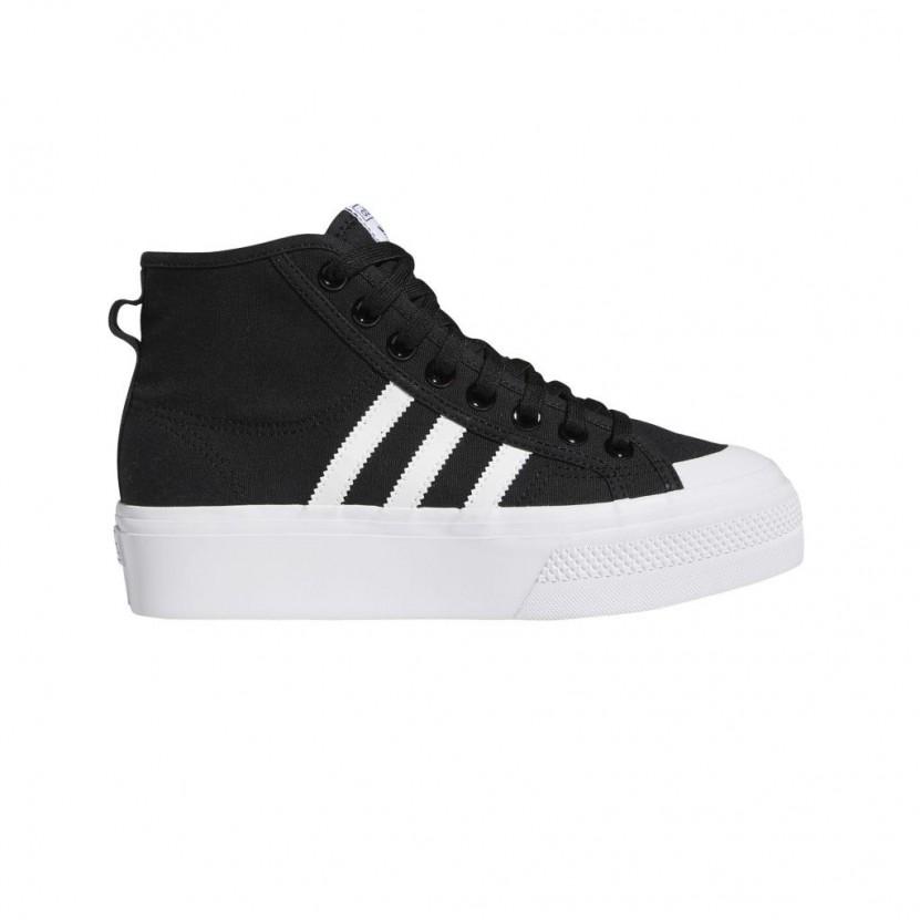 Zapatillas Adidas Nizza Platform MID W Negras