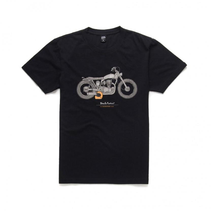 Camiseta Deus The Blodnok Tee Negra