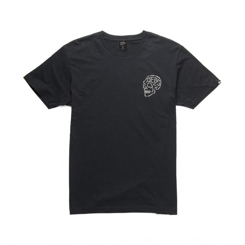 Camiseta Deus Venice Skull Negra