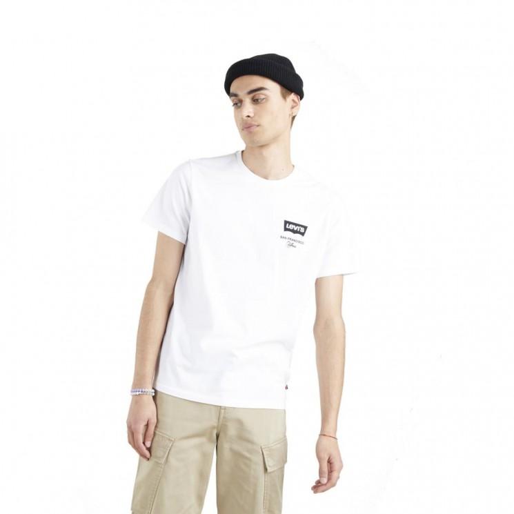 Camiseta Levis Housemark Graphic Tee Blanca