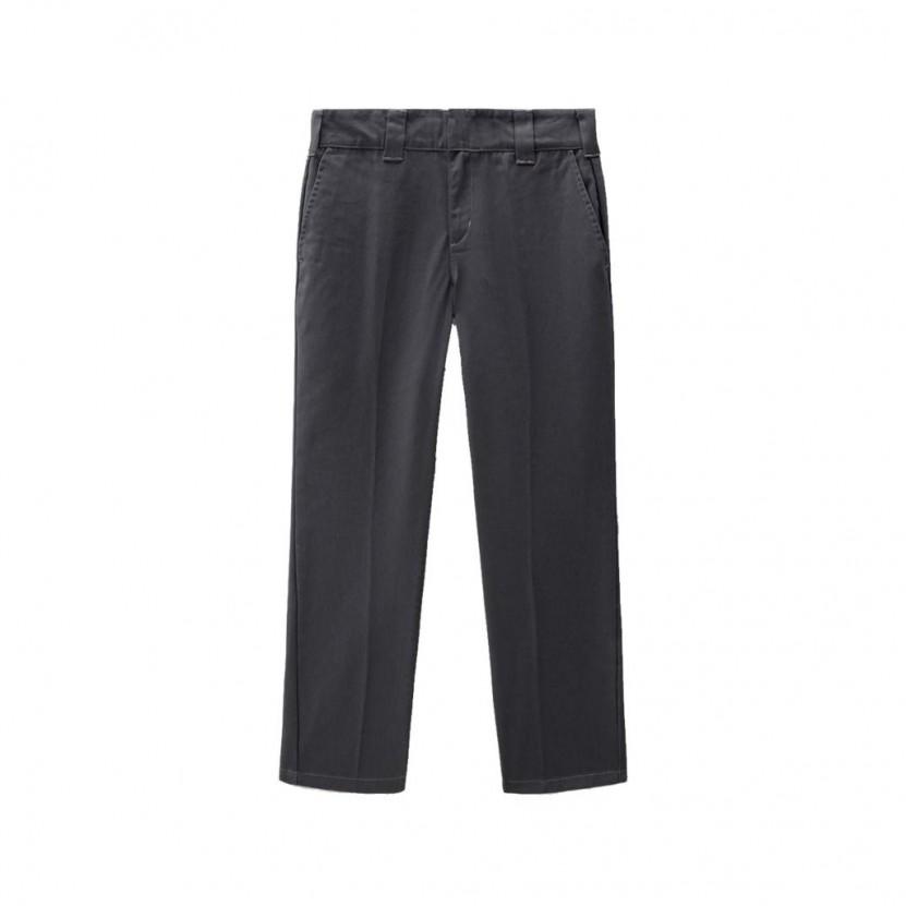 Pantalon Dickies Slim Fit Work Pant Grises