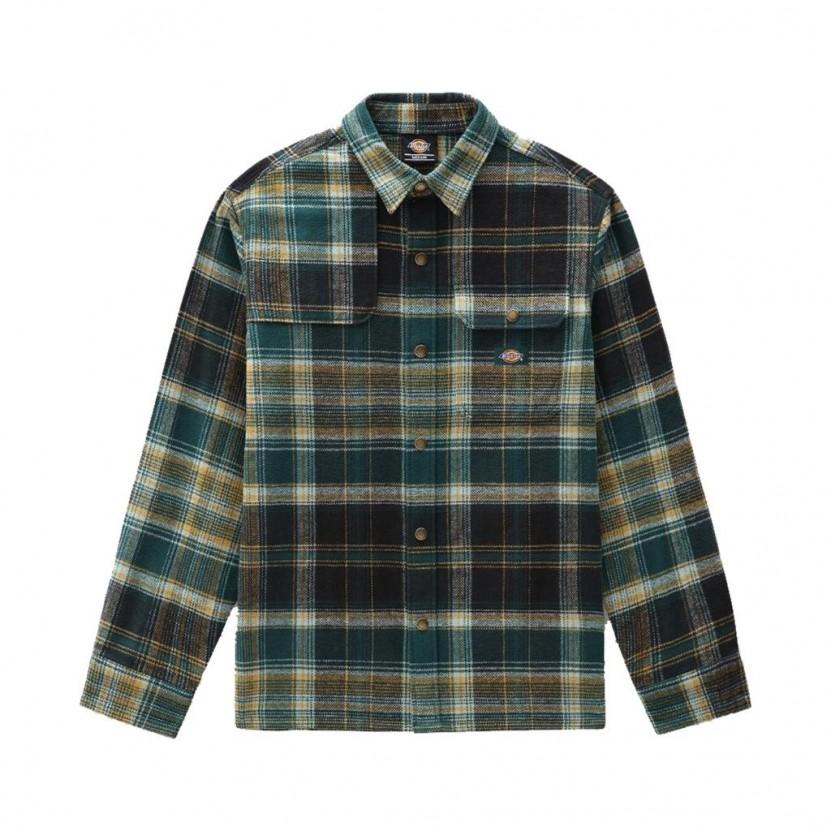 Camisa Dickies Nimmons LS Verde