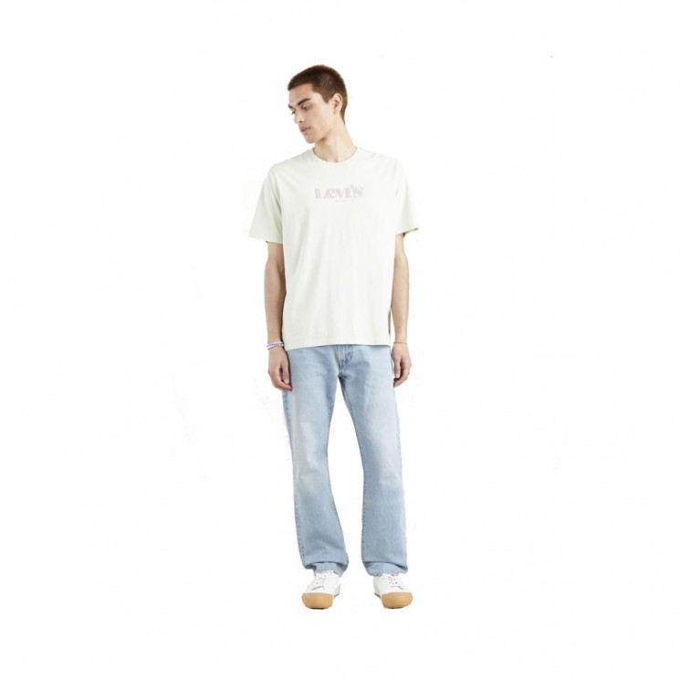 Camiseta Levis SS Relaxed Fit Tee Verde Agua