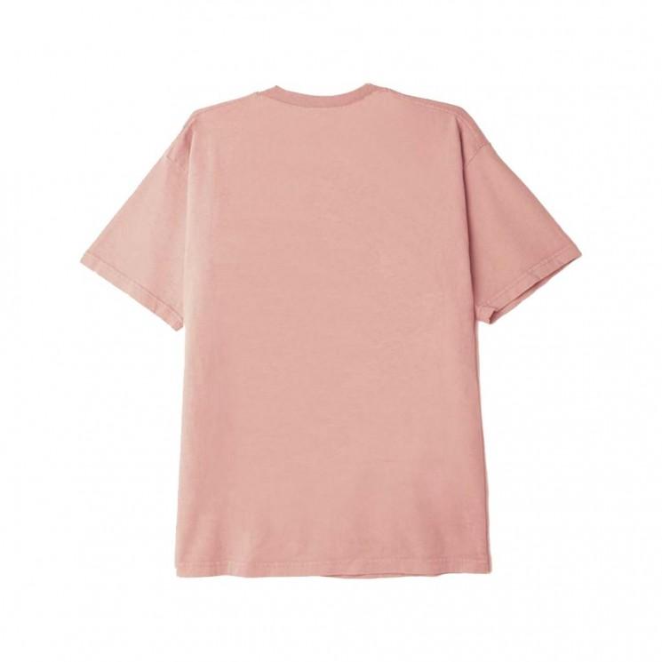 Camiseta Obey Scream Rosa