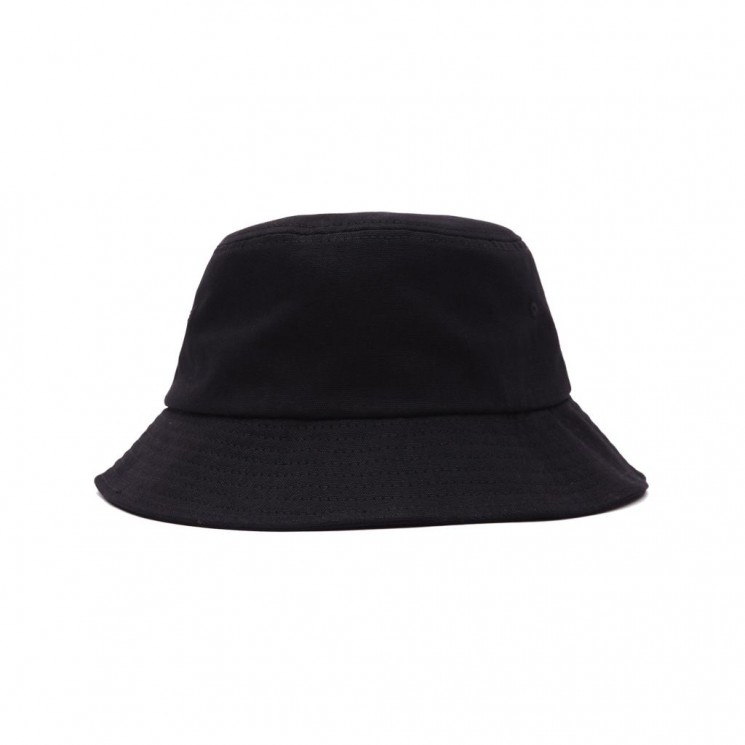 Sombrero Obey Bold Canvas Bucket Hat Negro