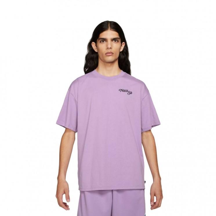 Camiseta Nike SB Tee Bud Malva