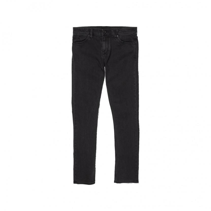 Pantalon Volcom 2x4 Denim Negro
