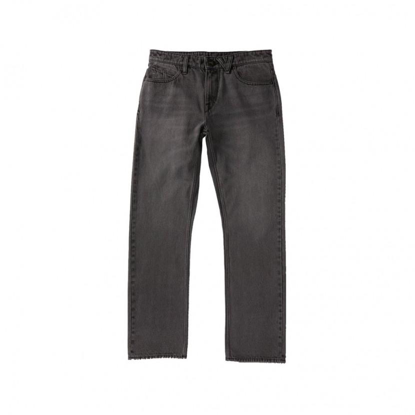 Pantalon Volcom Solver Denim Gris