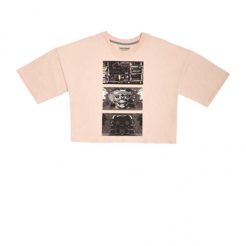 Camiseta Volcom Animoscillator FA Tee Blanca