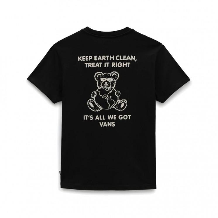 Camiseta Vans WM Bossy Bear Negra