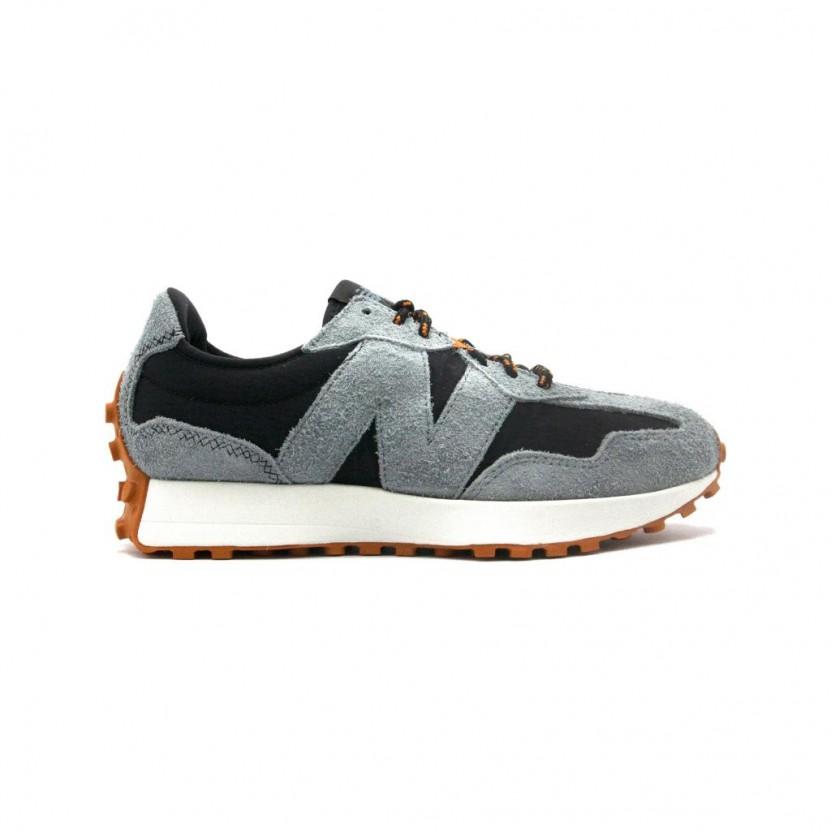 Zapatillas New Balance MS327 Negro Gris