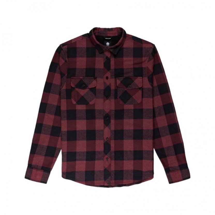 Camisa Element Tacoma Roja