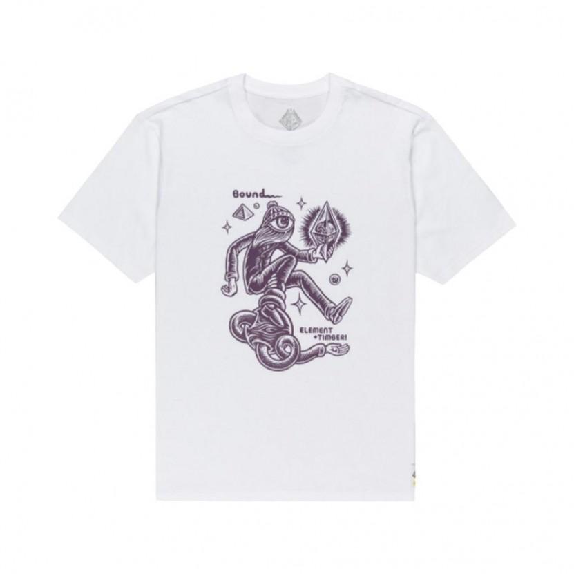 Camiseta Element Forward SS Blanca
