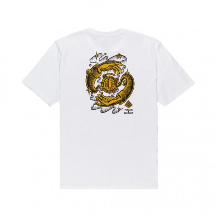 Camiseta Element Rotation SS Blanca