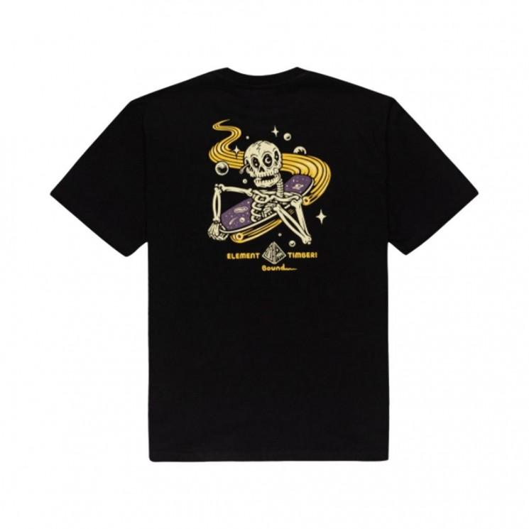 Camiseta Element Transender SS Negra