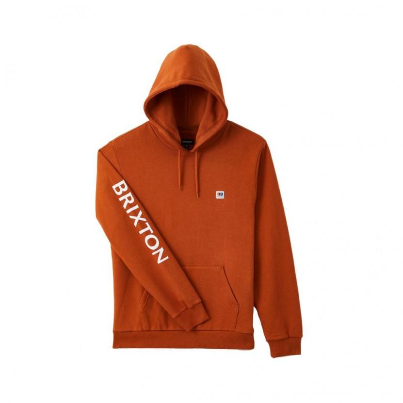 Sudadera Brixton Alton Hood Naranja