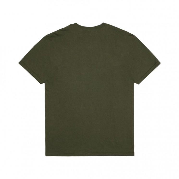 Camiseta Brixton Alton Stripe S S Tee Verde