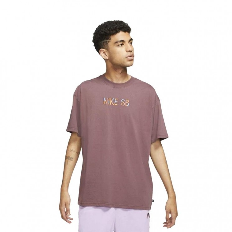 Camiseta Nike SB Tee Mosaic Granate