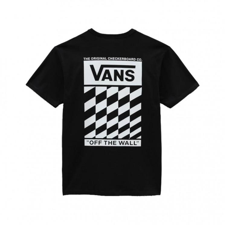 Camiseta Vans MN Off The Wall Slanted Checker SS