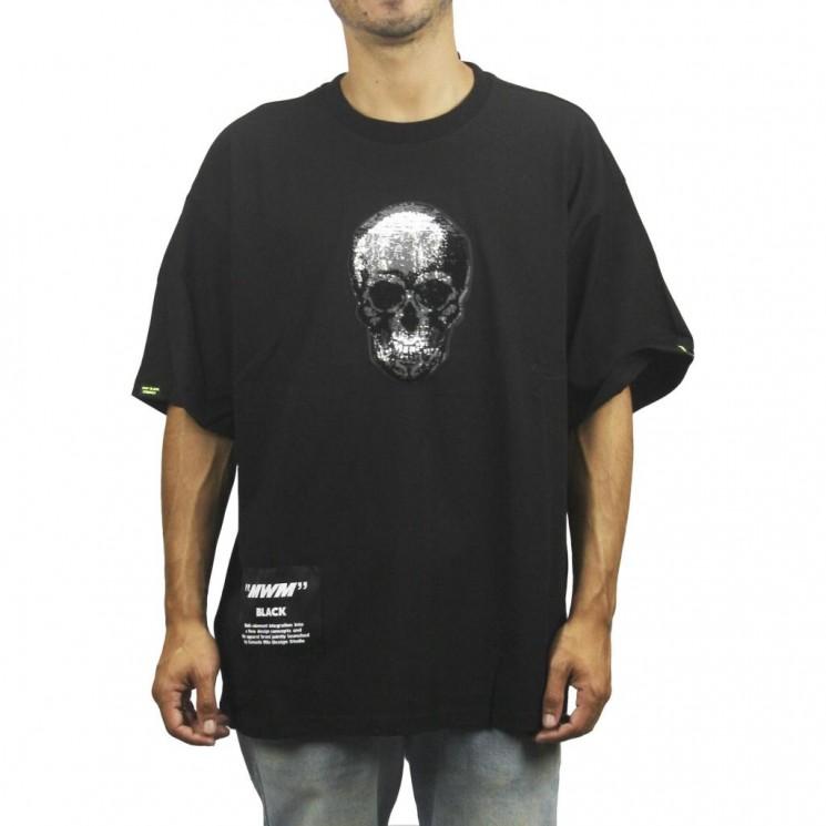 Camiseta Mod Wave Movement MW042020310 Black