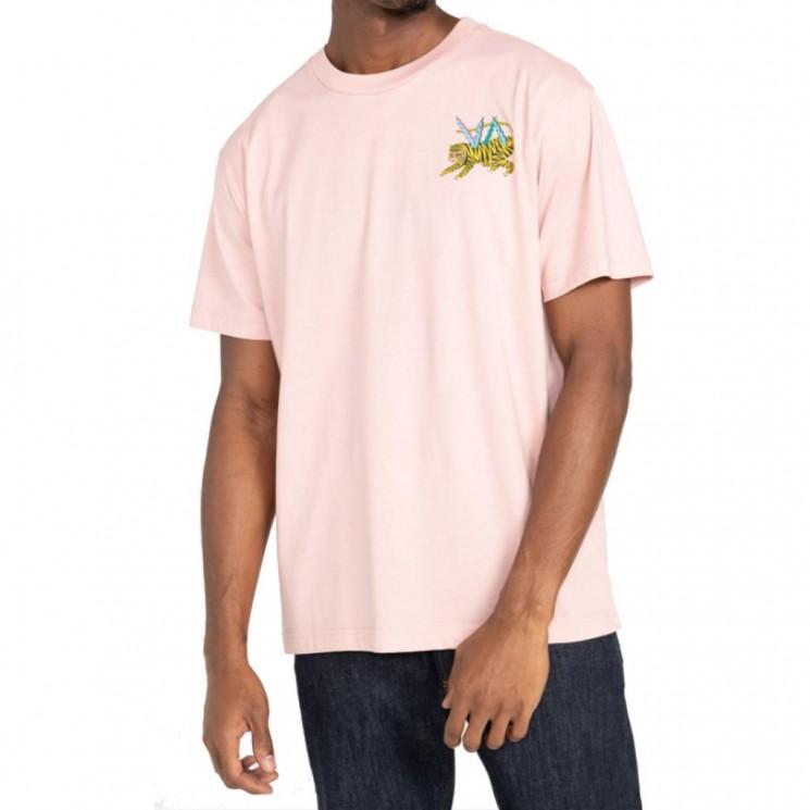 Camiseta Rvca ML Tiger Malva