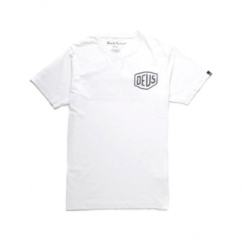 Camiseta Deus Tokyo Addres Tee Blanca