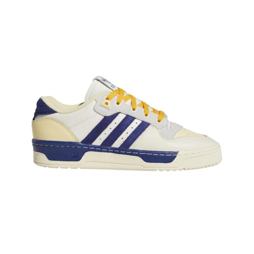 Zapatillas Adidas Rivalry Low Blancas
