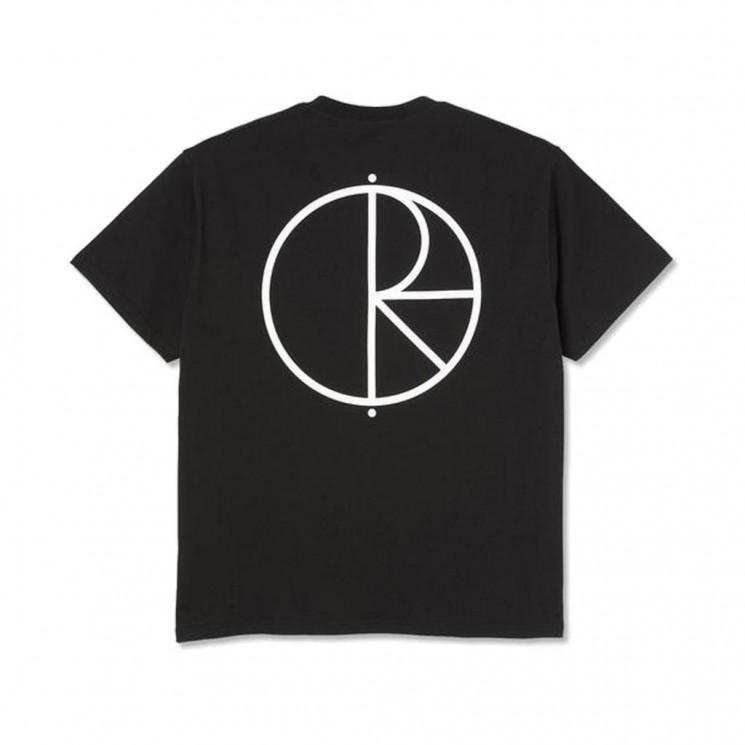Camiseta Polar Stroke Logo Tee Negra