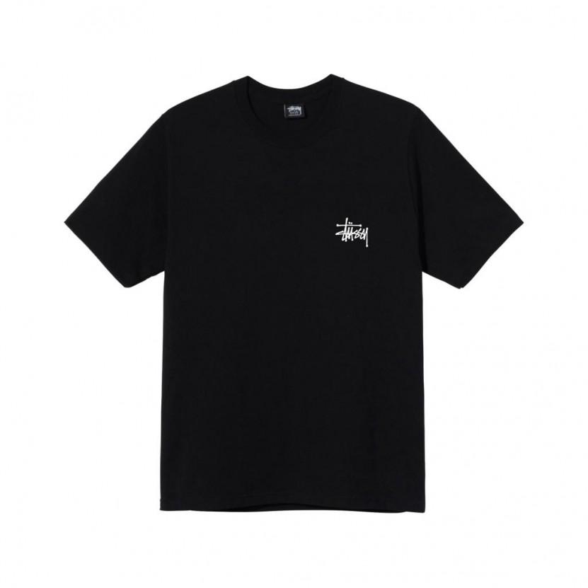 Camiseta Stussy Basic Tee Negra