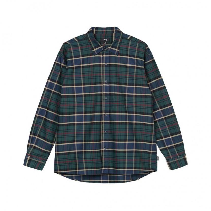 Camisa Stussy Classic Oxford Shirt Verde