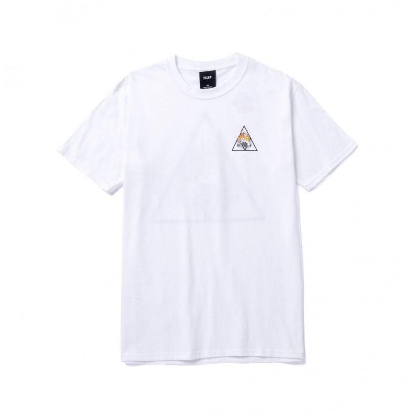 Camiseta HUF Hot Dice TT S S Tee Blanca