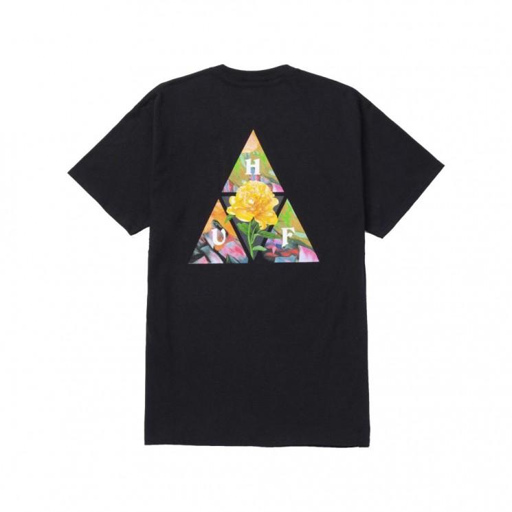 Camiseta HUF New Dawn TT S S Tee Negra