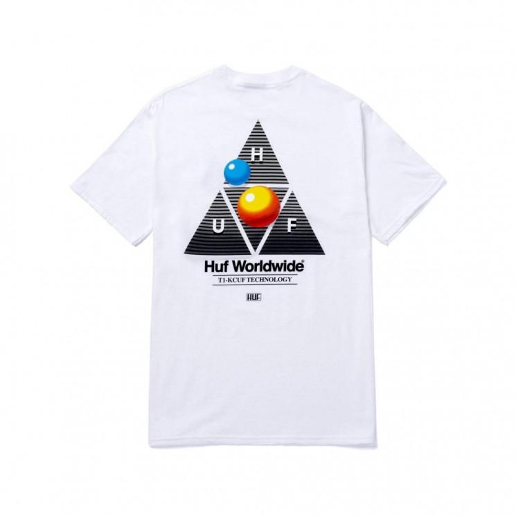 Camiseta HUF Video Format TT S S Tee Blanca