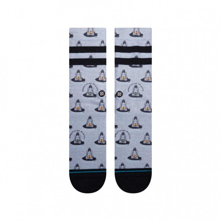 Calcetines Stance Namastay Gris