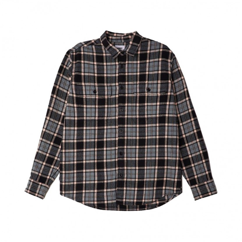 Camisa Obey Divisions Woven