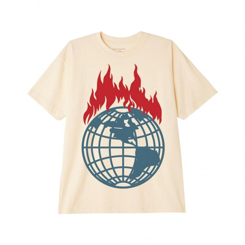 Camiseta Obey Dont Just Watch It Burn