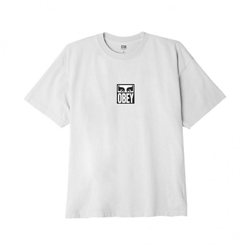 Camiseta Obey Eyes Icon 3 Gris